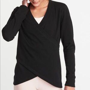 Old Navy Active Wrap Terry Sweatshirt for Women